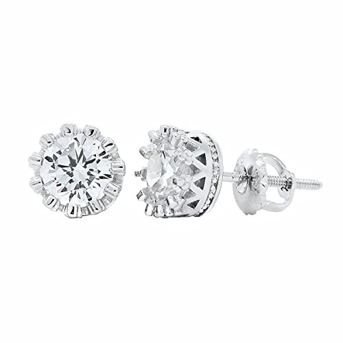1000-jewels-womens-austin-5mm-10ct-russian-ice-on-fire-cz-crown-set-screw-back-earrings-925-sterling