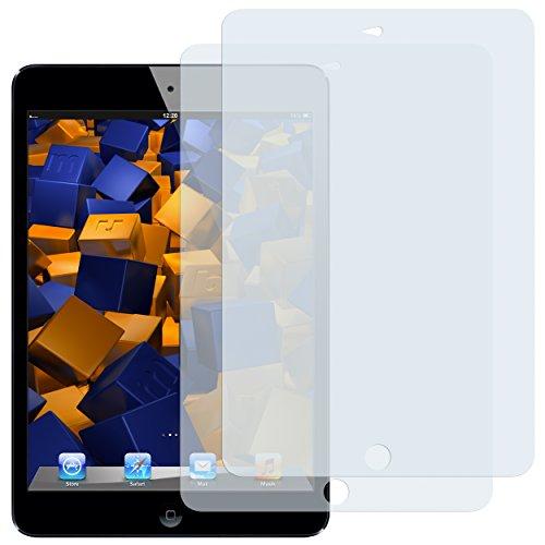 mumbi Schutzfolie kompatibel mit Apple iPad mini Folie, iPad mini 2 Folie klar, Displayschutzfolie (2x) - 2 Ipad Screen Protector Mini