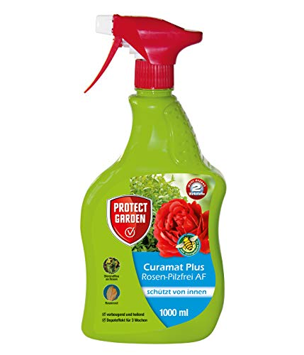 PROTECT GARDEN Curamat Plus Rosen Pilzfrei AF (ehem. Bayer Garten Baymat), Pilzbekämpfung, 1000 ml