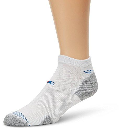 Champion Herren 3-pack Sock (Champion Men's 3 Pack Lighter Weight Low Cut Socks, White, 10-13 (Shoe Size 6-12))