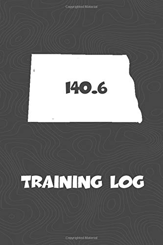 Training Log: North Dakota Training Log for tracking and monitoring your training and progress towards your fitness goals. A great triathlon resource ... bikers  will love this way to track goals! por KwG Creates