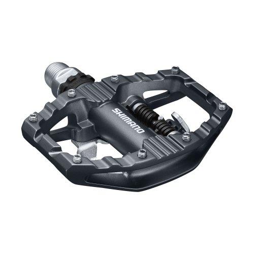 Shimano Unisex- Erwachsene Fahrradpedale-2091881300 Fahrradpedale, schwarz, One Size