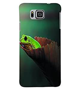 Colourcraft Nature Back Case Cover For Samsung Galaxy Alpha G850