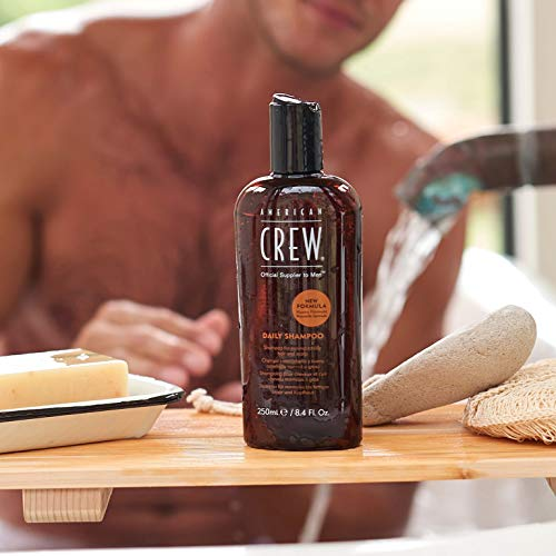 AMERICAN CREW DAILY SHAMPOO Shampoing Quotidien pour Cheveux/Cuir Chevelu Normaux à Gras, 250ml image 1
