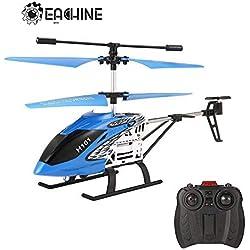 EACHINE H101 Helicóptero Radiocontrol 3.5CH Control Remoto Infrarrojo Mini Drone con Giroscopio (Azul)