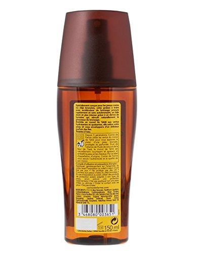 CORINE DE FARME Graisse a traire avec accélérateur de bronzage Monoi de Tahiti - 150 ml