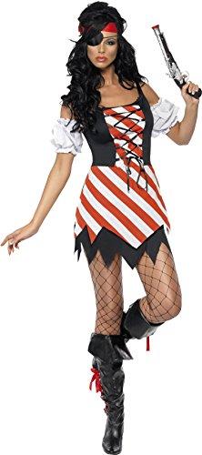 SMIFFYS Smiffy's - Costume da pirata sexy, Donna