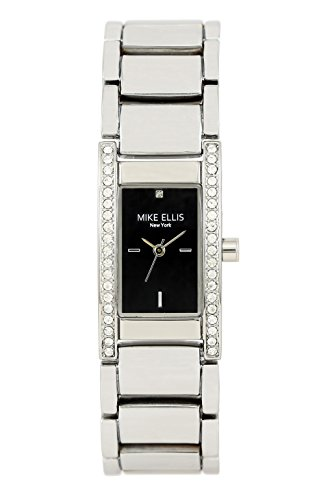 Mike Ellis New York Damen-Armbanduhr Krystal Analog Quarz Alloy SL2411