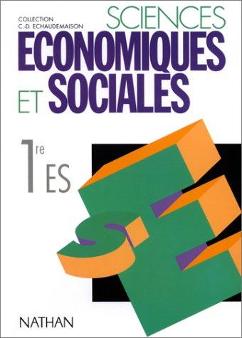 Sciences économiques et sociales 1re ES : programme 1994