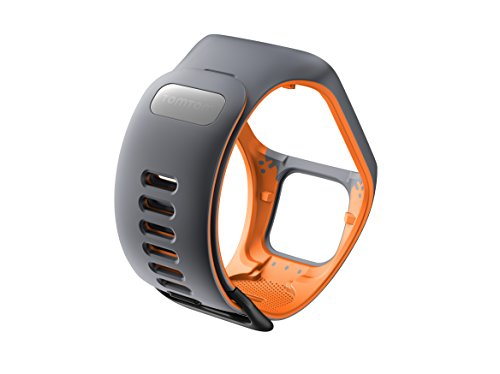 TomTom-watch-strap-for-Runner-3-Spark-3-Runner-2-Spark-Golfer-2-GreyOrange-Large