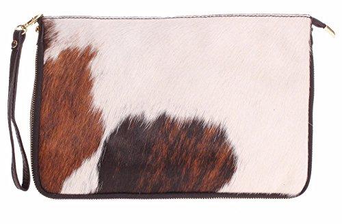 Big Handbag Shop, Borsetta da polso donna One Pony - Design 8