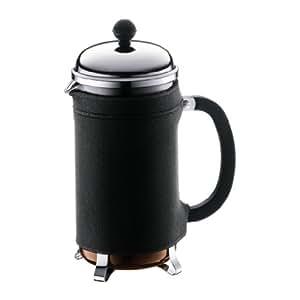 Bodum 10968-01 Nero Couvre Cafetière Chambord 8 Tasses Néoprène Noir