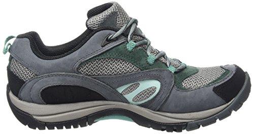 Merrell Azura, Chaussures de  Randonnée Basses femme Gris (TURBULENCE)