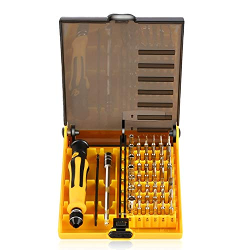 Tree-on-Life Professionelle 45 in 1 Präzise Schraubendreher Set Stahl Hardware Schraubendreher Repair Tool Kit Für Handy Notebook Computer - 12 Stück Computer-tool-kit