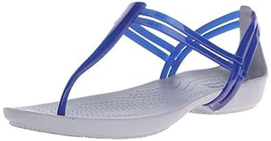 crocs Women's Blue Synthetic Fashion Slipper(W8)
