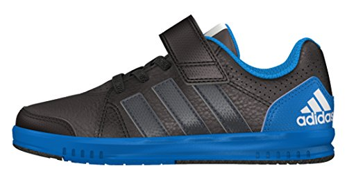 adidas - Lk Trainer 7 El K, Scarpe sportive Bambino Nero (Negbas / Griosc / Azuuni)