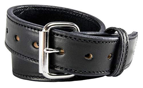 Relentless Tactical The Ultimate CCW Gun Belt/Waffengürtel aus Leder, ca. 400 g, Black - Stitched, 32 (Size 28 Pants - Check Sizing Guide) -
