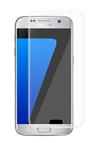 VAPIAO Panzerglasfolie Panzerglas kompatibel mit Samsung Galaxy S7 9H 3D Glasprotektor Clear Glas 9H 3D Schutzfolie Echtglas