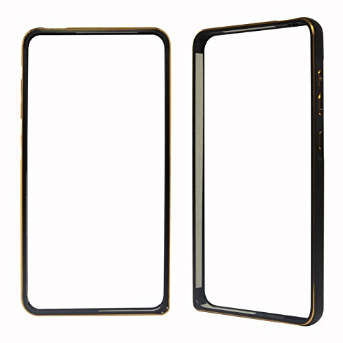 DMG Luxurious Aluminium Metal Bumper Case for Xiaomi Redmi 2 / Redmi 2 Prime (Black)