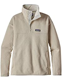 Patagonia LW Better Marsupial P/O Polar, Mujer, Azul (Bleached Stone)