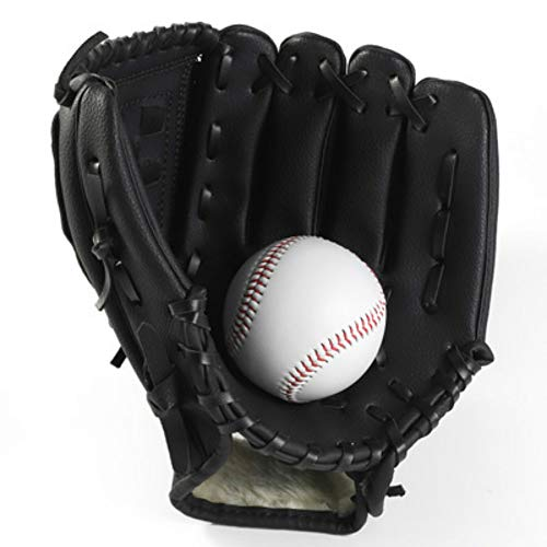 Baseball Baseball Handschuhe Sport & Outdoor Baseball Glove Batting Handschuhe mit Einem Ball Softball Handschuhe für Kinder Erwachsene Geeignet für Wettbewerbe und Unterhaltung