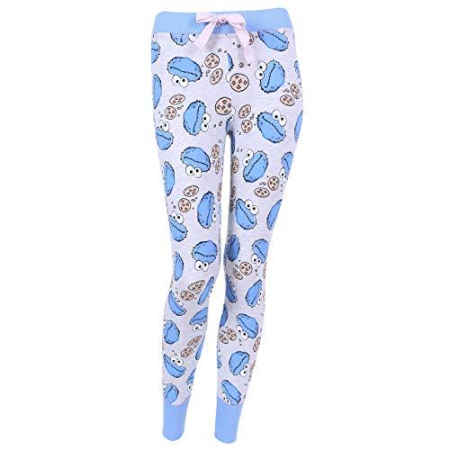 Grau-marineblaue Hose Cookie Monster - M