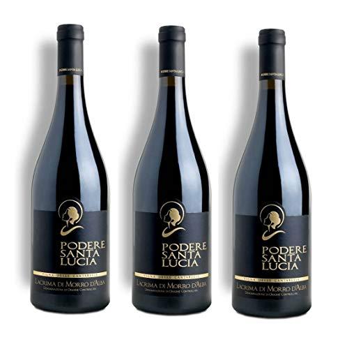Vino Rosso Lacrima Di Morro D'Alba SUP. Le Cantarelle | 2015 | Podere Santa Lucia - 3 Bottiglie