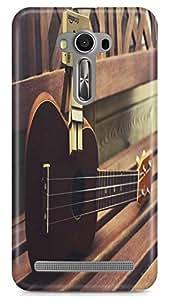 PCM High Quality Printed 3D Designer Polycarbonate Hard Back Cover for Asus Zenfone Selfie ZD551KL - Matte Finish - Color Warranty - 0847