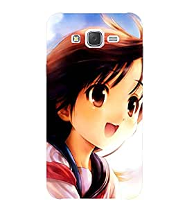 SAMSUNG ON 7 2015 DOLL GIRL PRINTED BACK CASE COVER by SHAIVYA