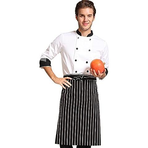 grembiule/Metà cotone chef uniformi-A