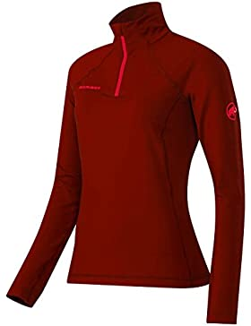 Mammut Snow ML Half Zip Pull Women (Fleece Jackets/Vests), color:maroon;size:M
