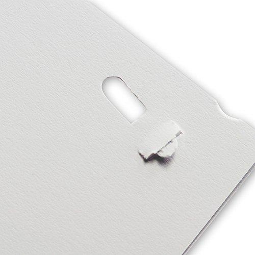 Philippi Design Hefter PUSH klammerlos, Papier abheften ohne Heftklammern bis zu 6 Blatt - 6