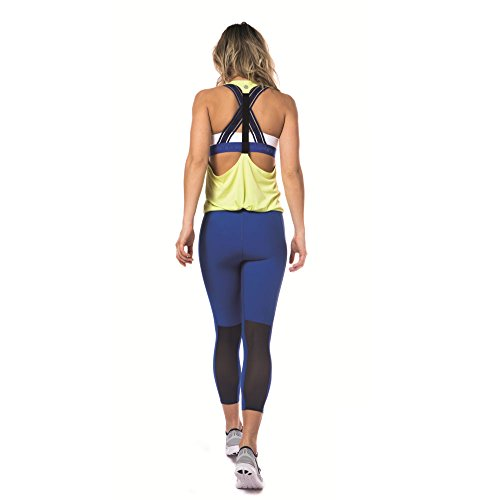 Skins DNAmic Women's Reggiseno Sportiva - SS18 Blue