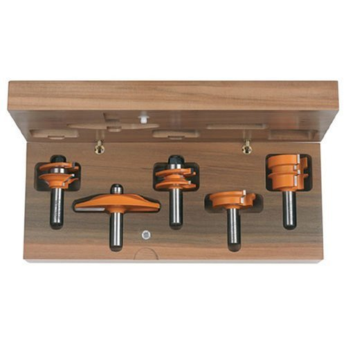 cmt-80051011-5-piece-standard-complete-kitchen-1-2-inch-shank-router-bit-set-by-cmt