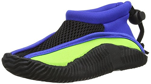 Splash About Chaussures de plage et de piscine-entreprise unique Multicolore - Lime/Royal Blue