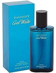 Davidoff Cool Water Mild Deo Spray für Männer, 1er Pack (1 x 75 ml)
