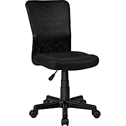 TecTake Chaise de Bureau - diverses Couleurs au Choix - (Noir | no. 401793)