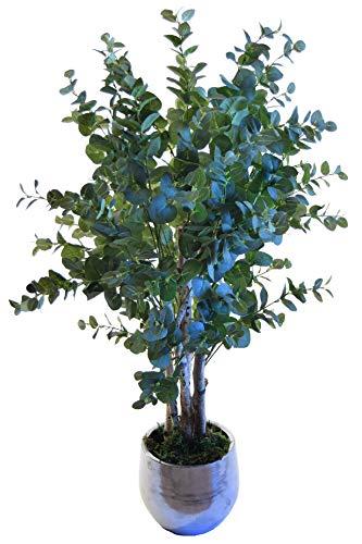 Maia Shop 1245 Eukalyptus-Stämme aus den besten Materialien, ideal für Dekoration zu Hause, künstlicher Baum (105 cm), gemischt (Zu Haus Baum Von)
