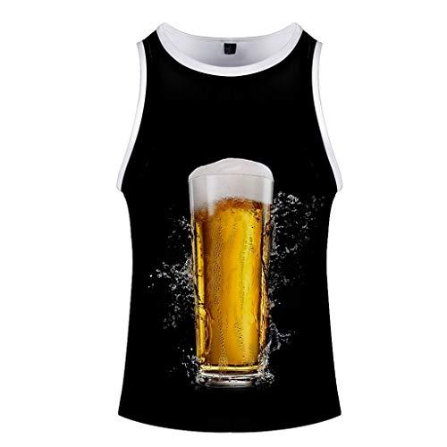 Festival de la cerveza Impreso sin mangas Hombre, vestido de chaleco Una...