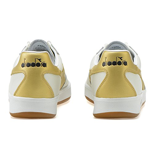 Diadora B.Elite L, Chaussures de Gymnastique Homme C1070 - OR BLANC