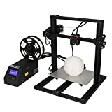 Mini 3D Drucker Mit Stromausfall-Wiederherstellung,3D Printer Aluminum I3 DIY 3D Printer Kit, Desktop 3D Printer Werkzeuglos Wechselbare Druckdüse, Touch Screen Druckgröße: 300 * 220 * 300 Mm