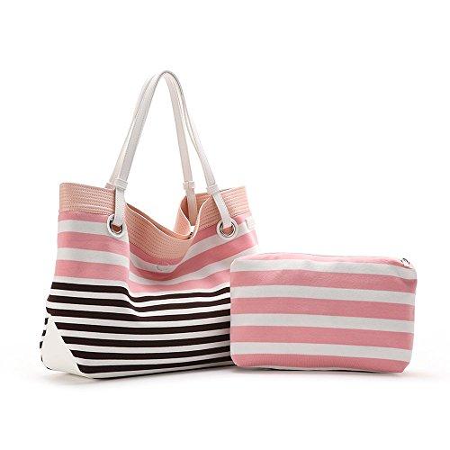 ABBACINO - Ss16 Abbacino Trendy Olbia  /  Pale Pink, Borsa A Spalla da donna, rosa (pale pink), taglia unica