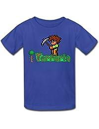 meilee Kid 's Terraria reproductor O-Neck camisetas