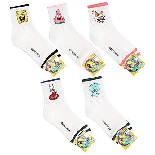 Patrick Von Spongebob - Spongebob Schwammkopf Charakter Mannschafts Socken mit