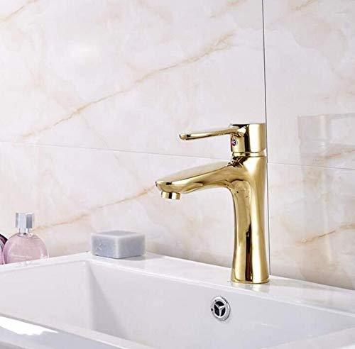 Brass Wall Faucet Chrome Brass Faucetmixer Gold Poliert Deck Montiert Waschbecken Wasserhahn Arbeitsplatte Heißes Und Kaltes Wasser Mischbatterie Mit Abdeckplatte -