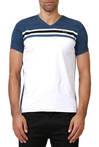 Dewberry Herren T-Shirt * Einheitsgröße INDIGO-WHITE