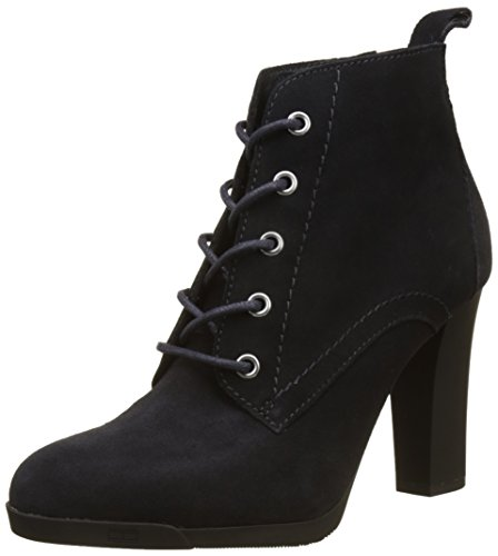 Gris Midnight 2b N1285anni Femme Hilfiger Bottines Tommy Chelsea 1BngYwH