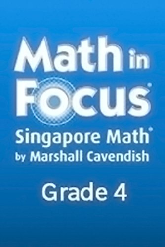 Math in Focus Extra Practice Workbook, Book B Grade 4 par Houghton Mifflin Harcourt