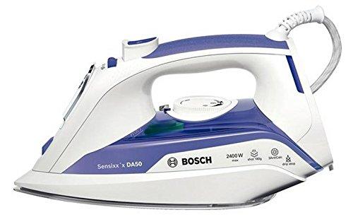 Bosch TDA5024010 Plancha de Vapor, 2400 W, 0.35, Cerámica, Blanco/Morado