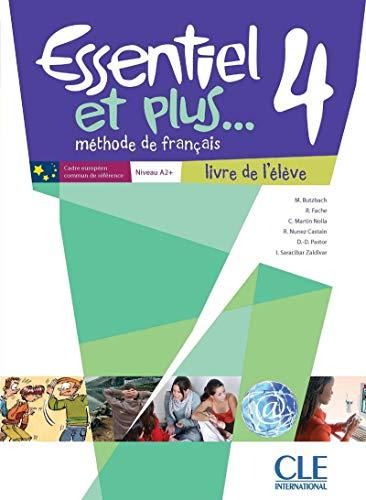 Essentiel et plus. 4 A2/B1 : Méthode de français (1CD audio MP3)